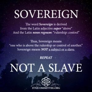 sovereign-not-slave