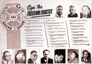 Sign the freedom Charter