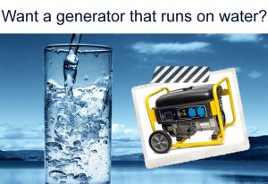 free energy generator-water