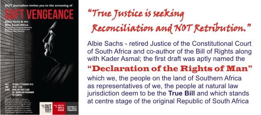 Albie Sachs - True Justice