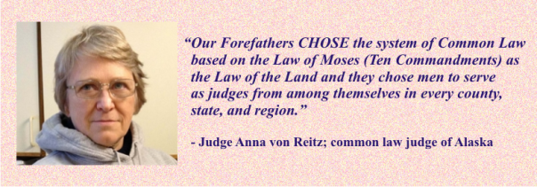 ANNA VON REITZ - on common law
