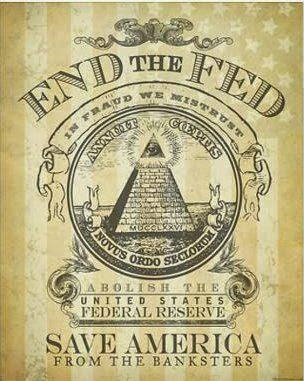 End the FED Save America from the banksters