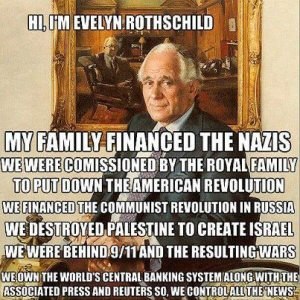 Hi, I'm Evelyn Rothschild