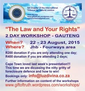 2015.08.22 ITNJ Gauteng Workshop