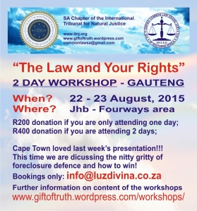 2015.08.22 ITNJ Gauteng Workshop