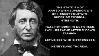 Henry David Thoreau - lets see who is strongest