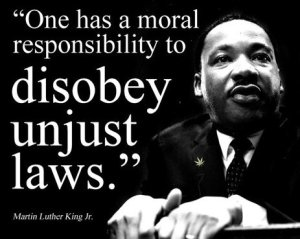 Martin Luther King - on unjust laws