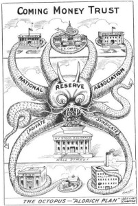 octopus the fed 1912 cartoon
