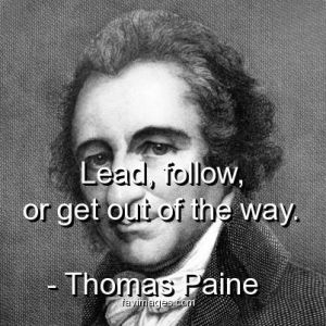Thomas Paine - lead