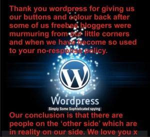We love you wordpress