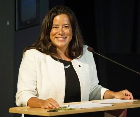Federal justice minister and British Columbia MP Jody Wilson-Raybould speaks at SFU in Vancouver, BC Saturday, January 23, 2016. Photograph by: Jason Payne , VANCOUVER SUN