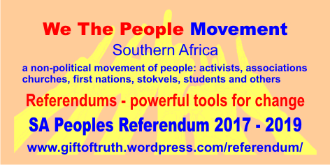 Referendums - powerful tools for change