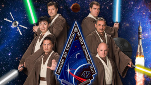Official NASA poster for International Space Station Expedition 45 was revealed in Feb 2015