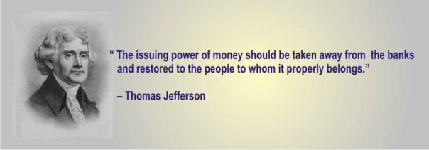 THOMAS JEFFERSON - the power of banking