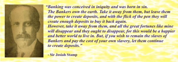 JOSIAH STAMP MONEY QUOTE