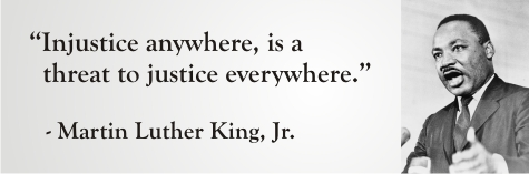 Martin Luther - injustice anywhere