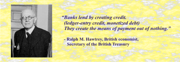 RALPH HAWTREY MONEY QUOTE