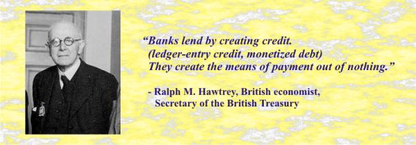 RALPH HAWTREY MONEY QUOTE