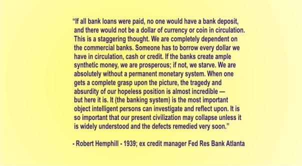 ROBERT H. HEMPHILL - if all bank loans were paid
