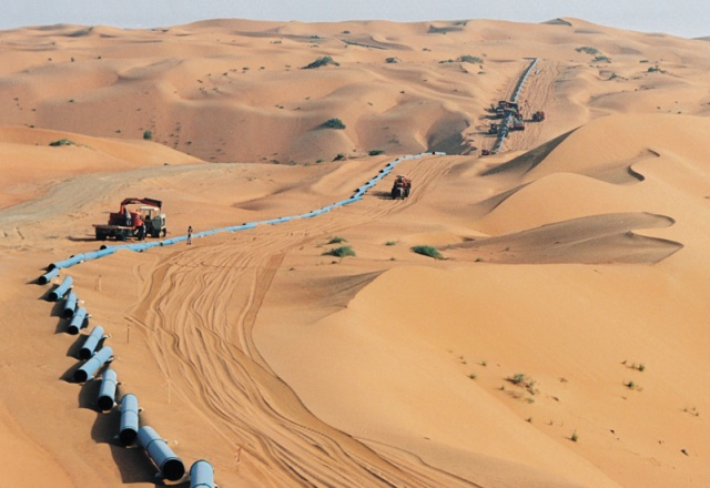 oil pipeline to ghawar