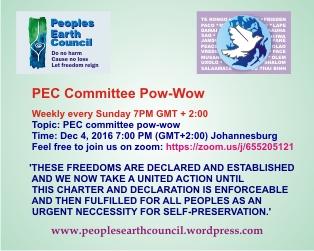 2016-12-04-pec-committee-pow-wow