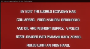 """2017 Predictive Programming From 1987 Movie """"The Running Man"""""""