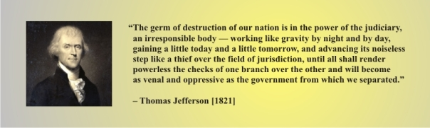 JEFFERSON - the germ of destruction lies