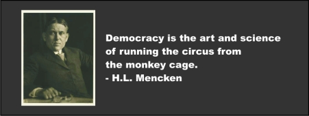 H.L. MENCKEN - Democracy is