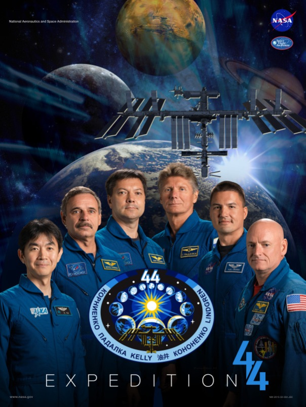 Expedition 44 crew poster