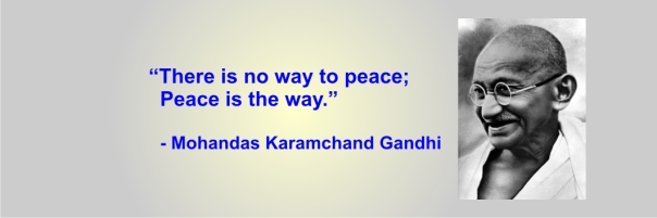 GANDHI - peace is the way
