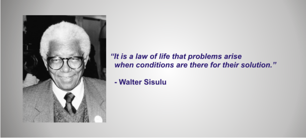Walter Sisulu - Law of Life