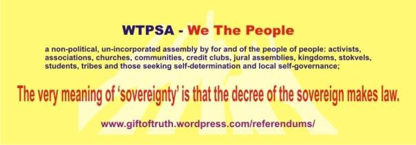 WTPSA - The very meaning of sovereignty is