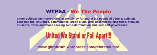 WTPSA - United we stand or fall apart